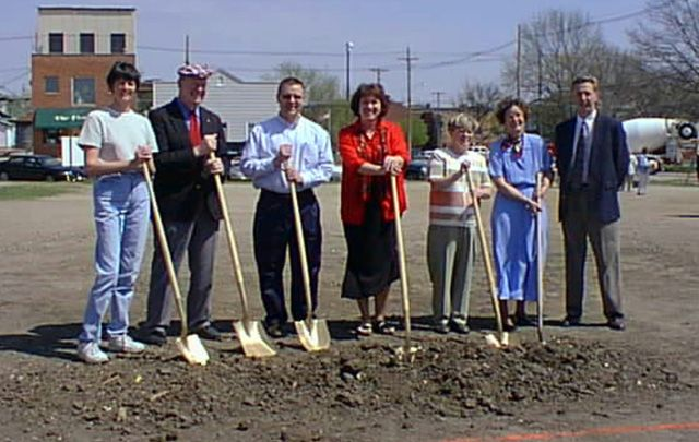 Seward Memorial Library Groundbreaking
